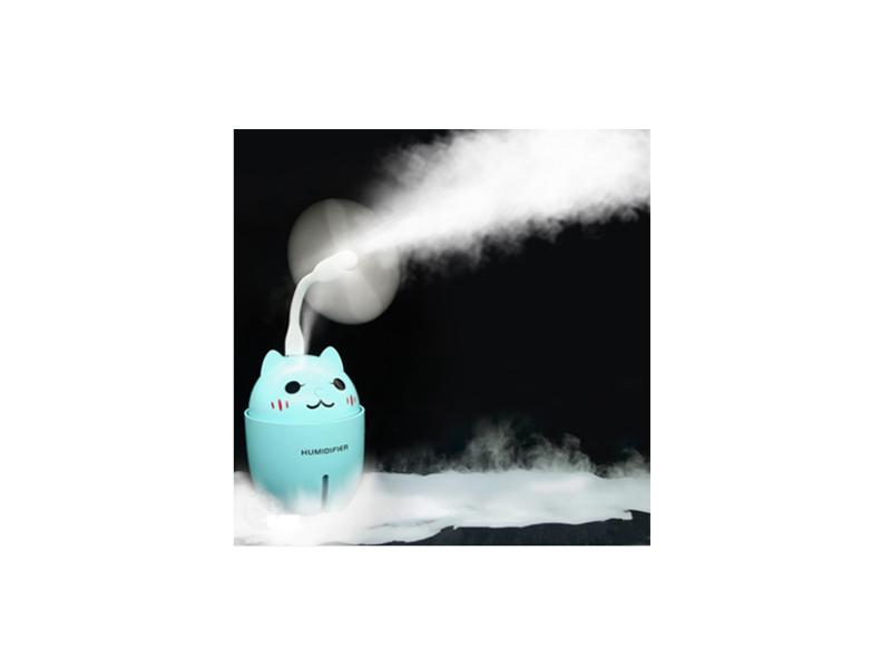 卡通喷雾小风扇空调制冷喷水usb电扇抖音加湿器